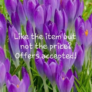 All offers taken into consideration, make an offer